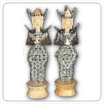 Bali Handicrafts Products - Coins Statue