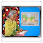 Bali Painting - Bali Old Woman